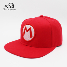 Buy red baseball cap with a letter and get free shipping on ... eea77ab47a76