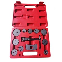 12pcs/set Auto Universal Precision Disc Brake Caliper Wind Back Brake Piston Compressor Tool Kit For Auto Garage Repair Tools
