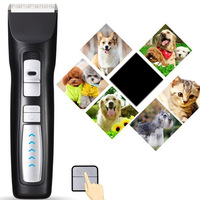 Professional Pet Dog Hair Trimmer Rechargeable Pet Clipper Razor Pet Electric Clippers Animal Grooming Tools
