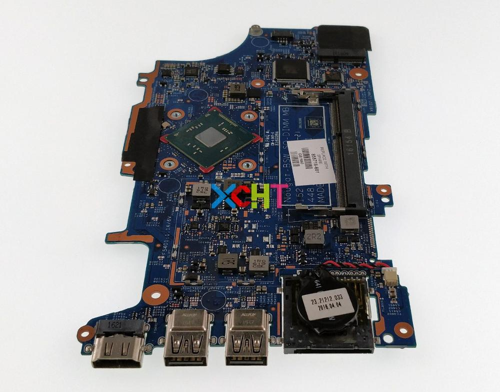 XCHT For HP Pavilion X360 14 A 15 A 11 U Series 855718 601 855718 001 UMA Pentn3710 Laptop Motherboard Tested & Working Perfect
