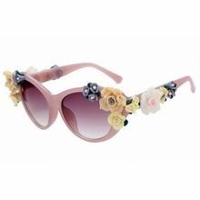 Moda Verano Oculos Vintage Retro Barroco Flor de Rose gafas de Sol de Diseñador de la Marca Mujeres Del Ojo de Gato Gafas de Sol Gafas De Sol Mujer