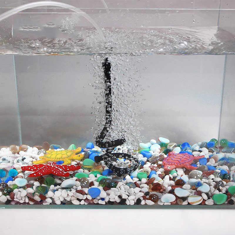 Black Air Stone Bubble Bar ท่อกำแพงม่านสำหรับพิพิธภัณฑ์สัตว์น้ำถังปลาปั๊ม Hydroponic ออกซิเจน Diffuser Tube 20 เซนติเมตร /60 เซนติเมตร/120 เซนติเมตร