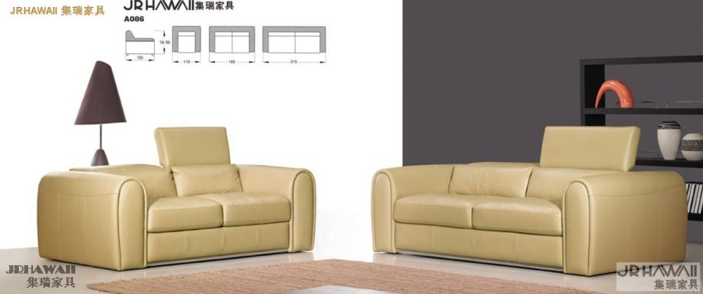 Designer Modern Style Top Graded Cow Genuine Leather Sofa Corner Living Room Home Furniture 2