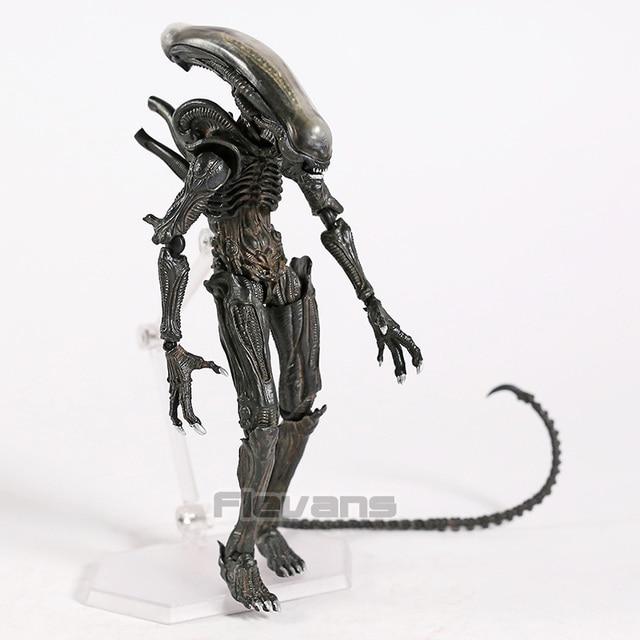 Takayuki Takeya Figma SP 108 Alien/SP 109 Predator 2 PVC Action Figure Da Collezione Model Toy