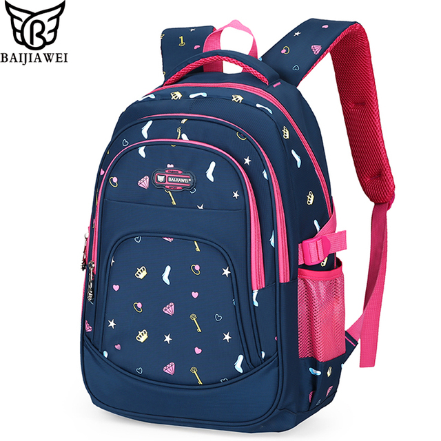 BAIJIAWEI New Arrival Children Backpack Primary School Bag for ...