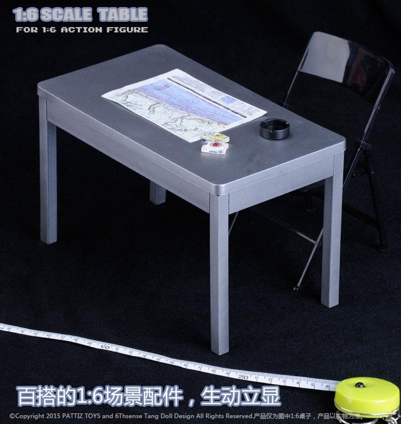 "PATTIZ TOYS 1//6 Scale Table For 12/"" Action Figure Scene"