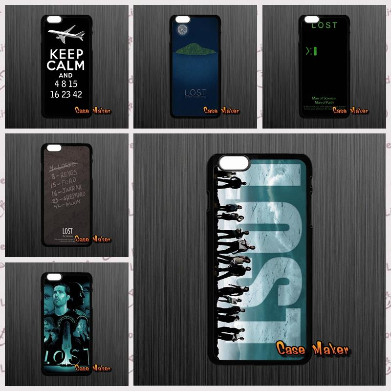 US $4 96 |Lost People TV play theme numbers cell case cover For iPhone X 4  4S 5 5C SE 6 6S 7 8 Plus Galaxy J5 J3 A5 A3 2016 S5 S7 S6 Edge-in
