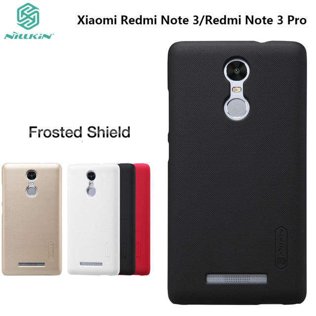 Redmi Note 3 Pro NILLKIN Frosted Case For Xiaomi Redmi Note 3 (5.5inch) Hard Plastic Back Cover with Gift Screen Protector