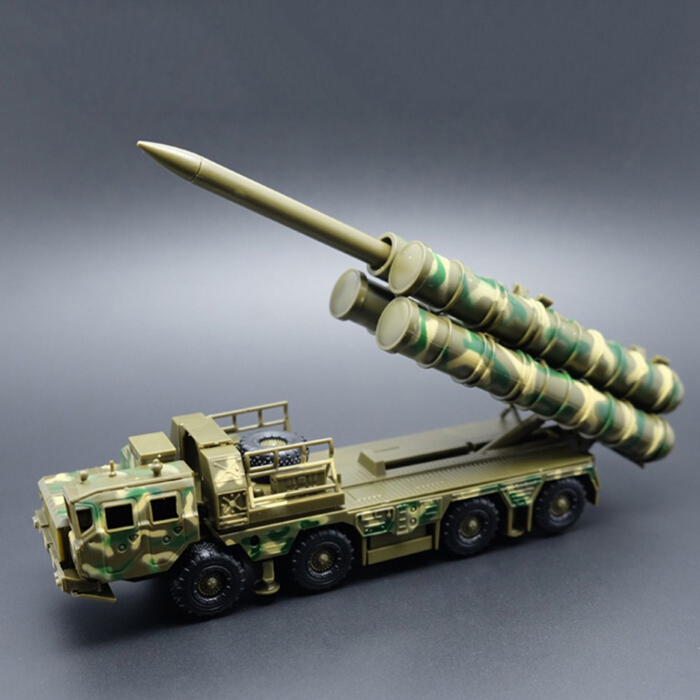 1:72 Russian S-300 Missile Launcher Military Assembly Model Random Color