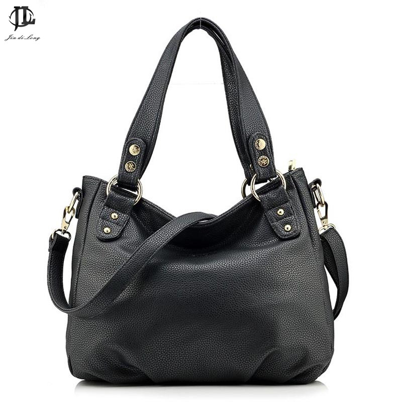 French Style Design Brand Litchi Grain PU Leather Women s Tote Handbag  Crossbody One Shoulder Bag Travel 44bc73b448238