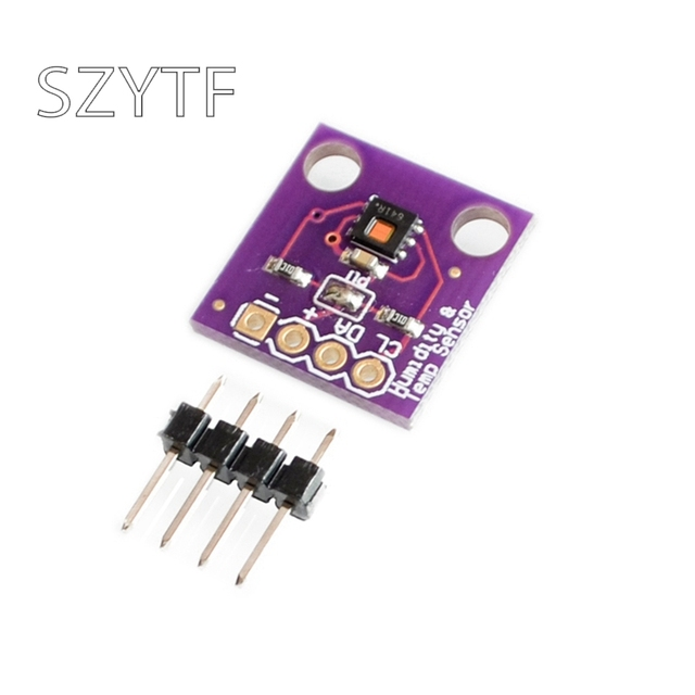 HDC1080 Temperature Humidity Sensor Module GY-213V-HDC1080 Module High Precision for Smart Home IOT