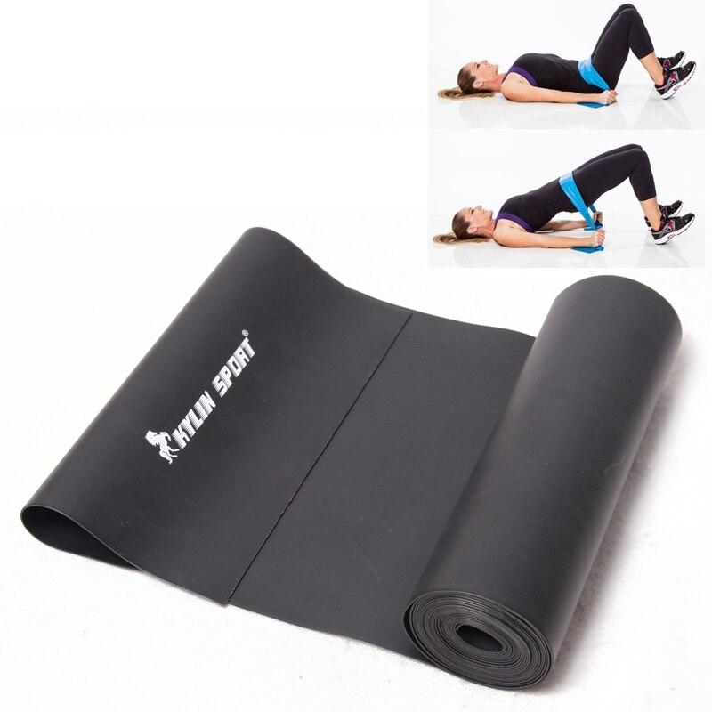2m Černá Fitness Přírodní napětí Zdraví Elastické cvičení - Fitness a kulturistika