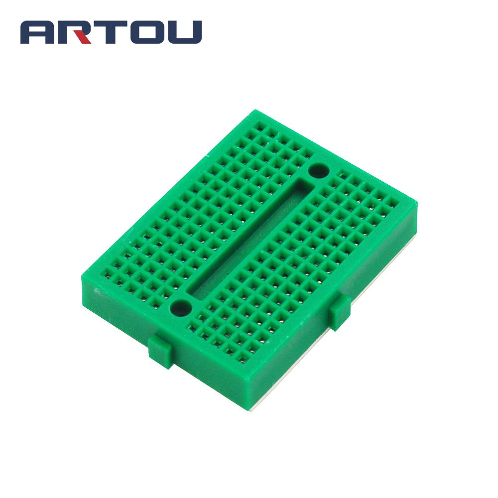 1PCS Green Mini Solderless SYB-170 Mini Solderless Prototype Breadboard 170 Tie-points Prototype Breadboard