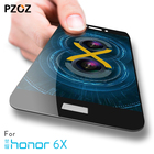 pzoz huawei honor 7x glass tempered full cover prime screen protector honor 7x glass film 6x Clear Full Screen huawei honor 6 x