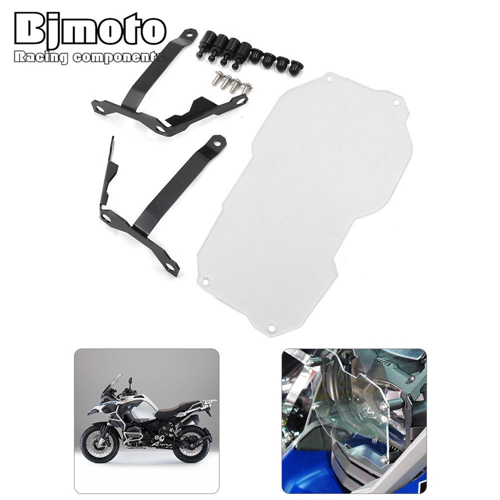 Hot Motorcycle Headlight Protector Guard Lenes Cover For BMW R1200GS Water Cooled models 13-16 R1200GS Adventure r1200gs motorcycle headlight grill guard cover protector for bmw r 1200 gs r1200gs adv adventure r 1200gs 2012 2016