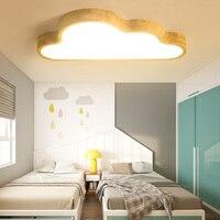 Нордическая детская комната потолочная лампа деревянная простая лампа для спальни мальчик креативная детская комната лампа деревянные ла