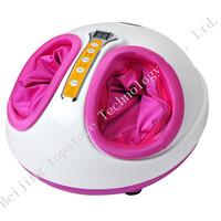 1pc Foot Massager Improves blood circulation and releases pressure Rolling Kneading Air Pressure Heating Shiatsu