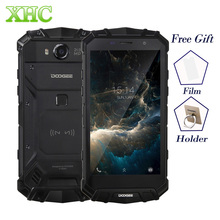 IP68 Doogee S60 Беспроводной Charge 5580 мАч мобильного телефона helio P25 Octa Core 1920*1080 FHD Смартфон 21mp Камера 6 ГБ + 64 ГБ телефона