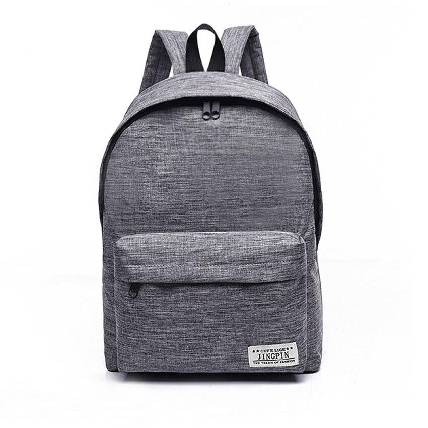 /Canvas Backpack College Bagback School Teenager Boy Girls Laptop Travel Backpacks Mochila Rucksacks