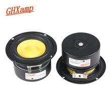 GHXAMP 3 بوصة 4OHM 25 واط المدى المتوسط مكبر الصوت باس مكبرات الصوت الألياف الزجاجية للمسرح المنزلي PC سطح المكتب بلوتوث بروتابلي الصوت 2 قطع