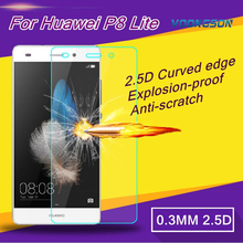 VOONGSON Premium Tempered Glass For Huawei Ascend G7 Mate 7 P8 Lite P9 G9 Honor 4C 4X With Screen Anti Shatter Protector Film