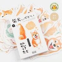 3 комплекта/1 партия Ретро Шиба ину поздравительные открытки по случаю Дня Рождения бизнесс подарок набор карт открытка