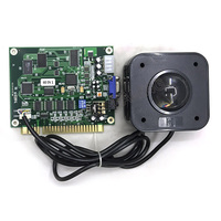 2 inch 4.5cm Diameter Round Connector PC Arcade Trackball Tracking mouse with Classical Game 60 in 1 PCB board for DIY