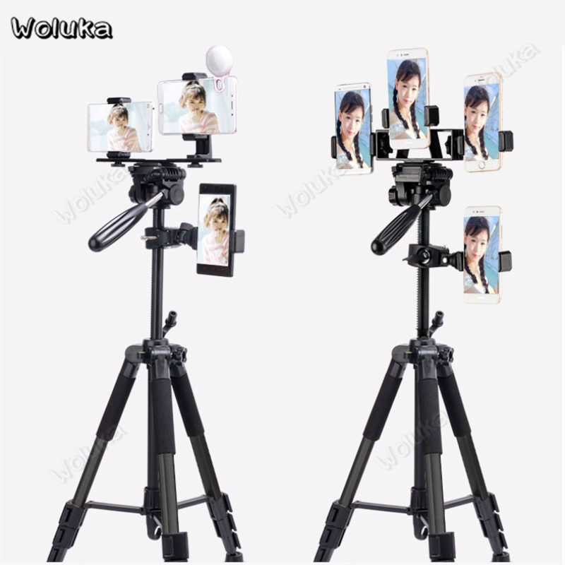 Position Clip Live Bracket Phone Holder Clamp For Ring Light Stand Tripod Photography Accessories Vlog Camera Youtube CD50 T10