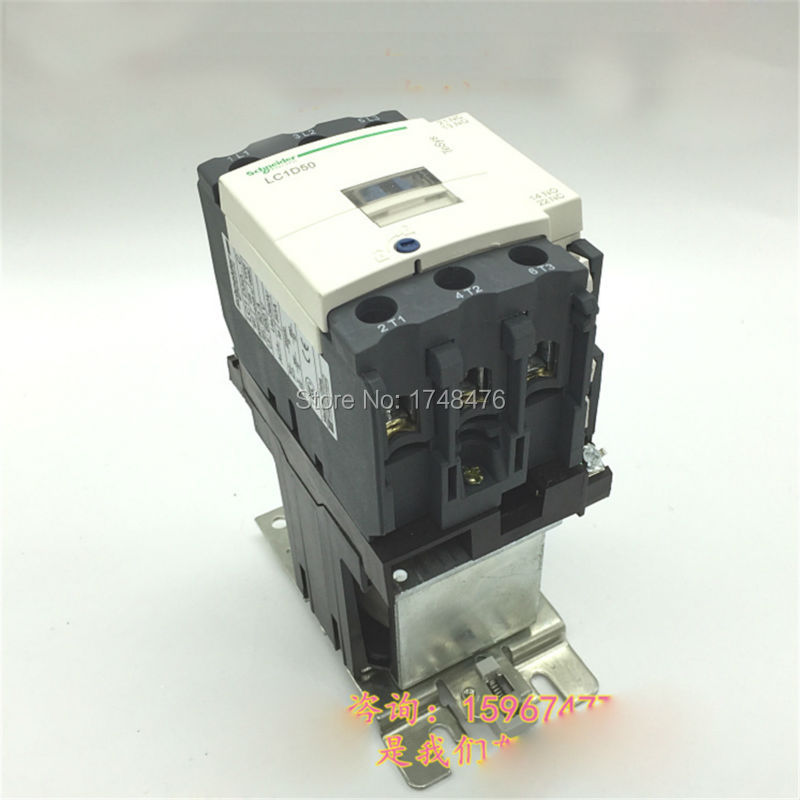 ФОТО TeSys D Contactor 3P 3NO 50A LC1D50 LC1D50MD LC1-D50MD 220V DC Coil