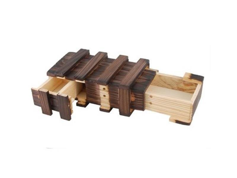 Творческий Деревянный Контейнер игрушки Логические Деревянный Магия деревянный ящик с дополнительной Secure секретный ящик головоломки бокс...