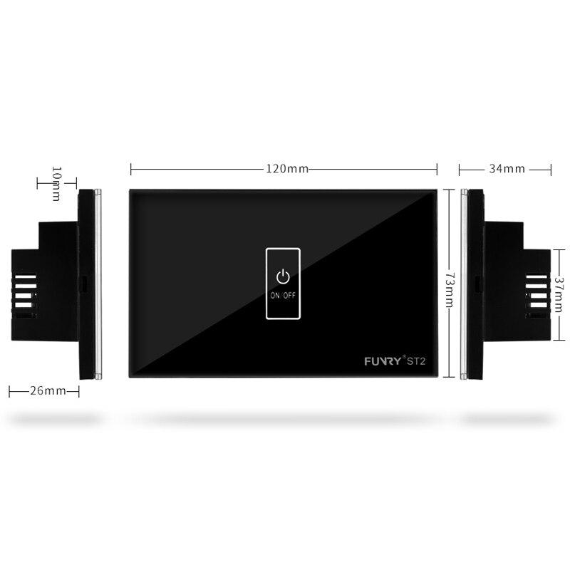 Interruptores e Relés parede interruptor de luz do Peso : 0.25kg