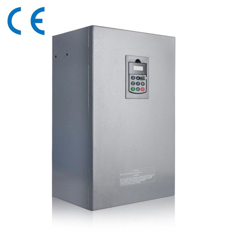 75KW 100HP 300hz general VFD inverter frequency converter 1PHASE 220V in 3phase 0-380V out 150A sv008igxa 4 frequency converter 0 75kw 3phase 380v new