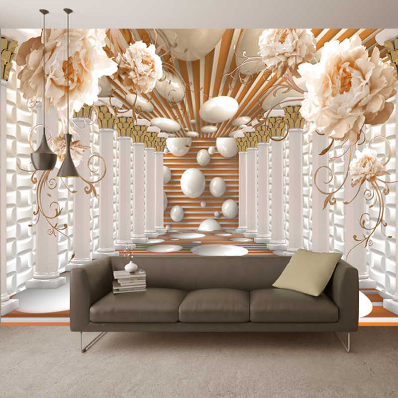 3d Wallpaper Mural Living Room