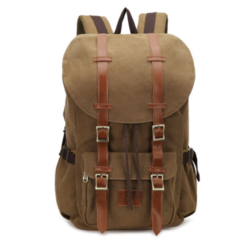 2018 New Fashion Men Women Backpack Vintage Canvas Large Capacity Laptop Backpack School Rucksack Men's Students Travel Bags wellvo men canvas bucket backpack students school bag casual luggage laptop bags travel large capacity rucksack mochila xa91wc