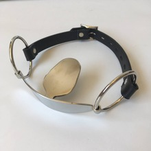 Stainless Steel Open Mouth Slave BDSM Fetish Wear