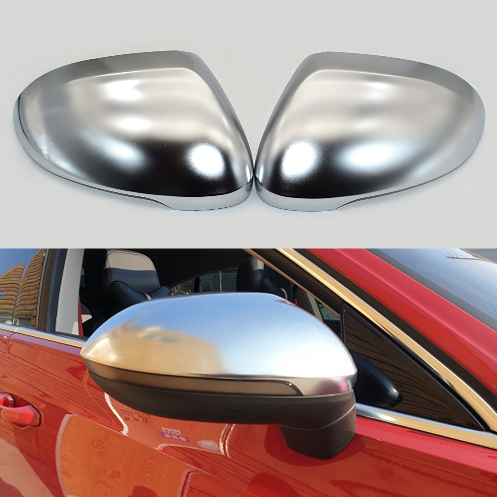 VW Passat B8 Mirror Cover 2 Pieces Stainless Steel