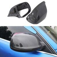 One hundred percent pure carbon fiber Rearview Mirror Cover Cap ABS for Audi Q5 SQ5 Q5L Q7 SQ7|Mirror & Covers| |  -