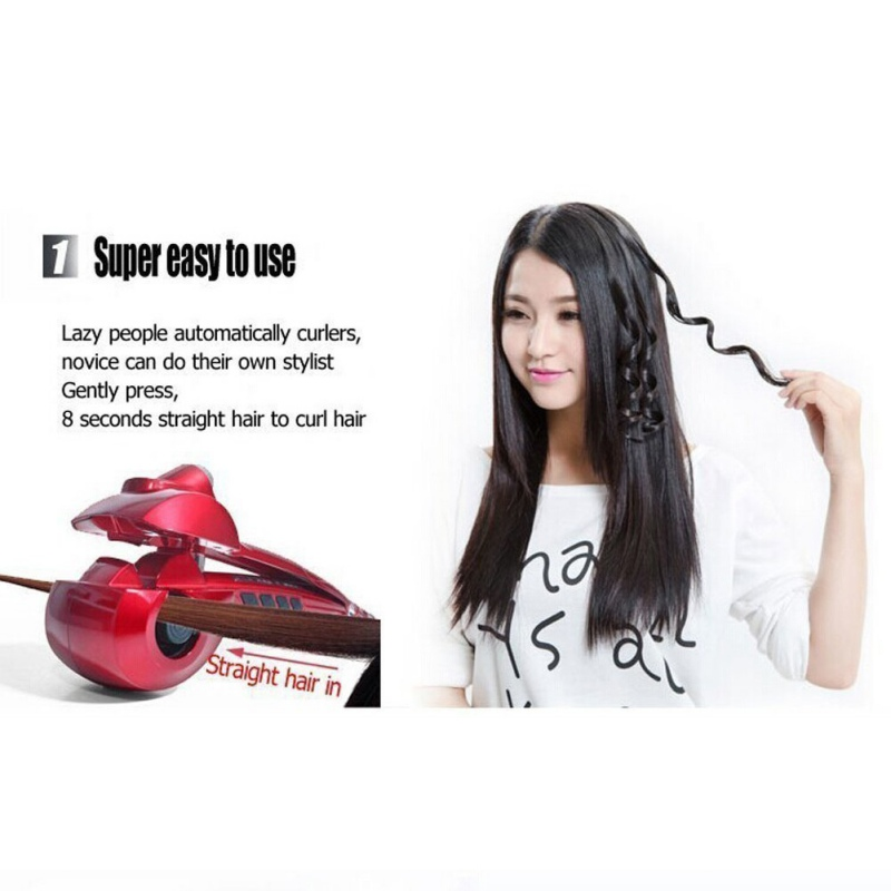 Health Care Massage & Relaxation For Hair Professional Beautiful Hair Curler Automatic Roller Curling Wand With EU US Plug концентрат health