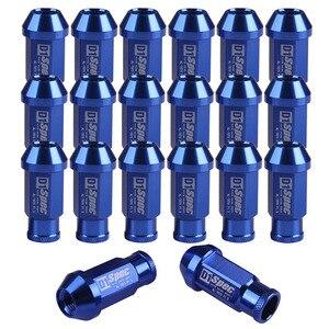 Image 1 - מקצועי חומרה מחברים 20pcs D1 Spec אגוז בורג סטי JDM מרוצי גלגל ברגי בורג M12X1.5 עבור הונדה פורד טויוטה AA