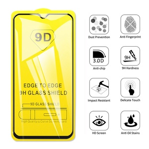 Image 5 - 9D Tempered Glass for Samsung Galaxy A50 A70 Screen Protector Glass for Samsung M20 A20 A20e A60 A80 M10 A30 A40 A50 A10 Glass
