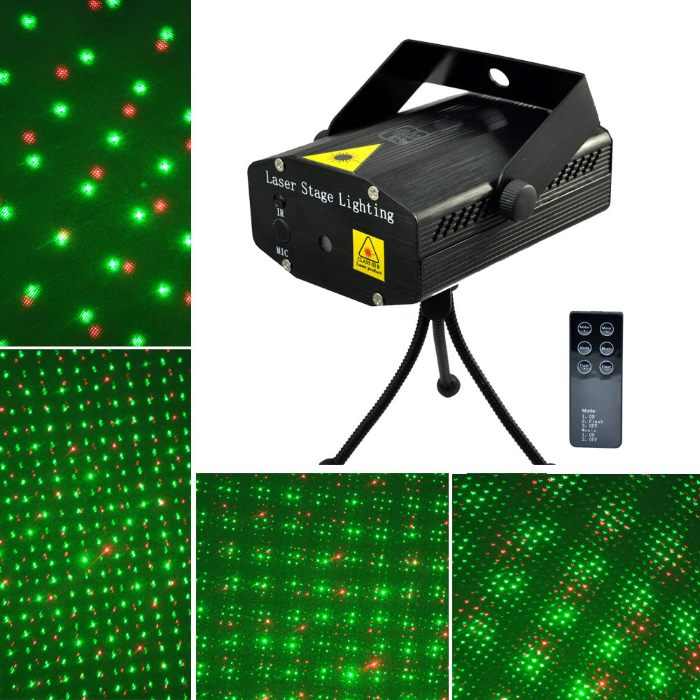 Mini RGB Projector Holographic Laser Stage Light Sound Active DJ Dance Studio Laser with RemotePortable -in Stage Lighting Effect from Lights u0026 Lighting ...  sc 1 st  AliExpress.com & New! Mini RGB Projector Holographic Laser Stage Light Sound ... azcodes.com