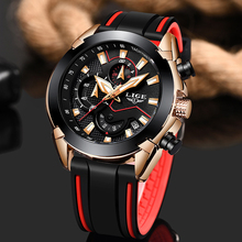 лучшая цена 2019 LIGE New Mens Watches Top Brand Casual Quartz Wrist Watch Men Luminous Calendar Business Waterproof Watch Relogio Masculino
