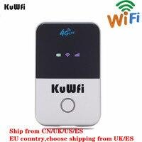 Router Wifi KuWFi 4G Mini Router Wireless LTE sbloccato 3G/4G FDD/TDD Router portatile Wi fi tascabile con Slot per schede Sim