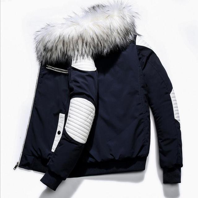 Special Offers Men Winter Slim Down Jackets Hooded Casual Winter Coats New Male Outwear Warm Parkas Winter Down Jackets