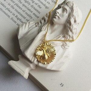 Image 5 - Silvology 925 Sterling Silber Cartoon Insekt Biene Halskette Gold Original Modische Weibliche Anhänger Halskette 925 Geburtstag Schmuck