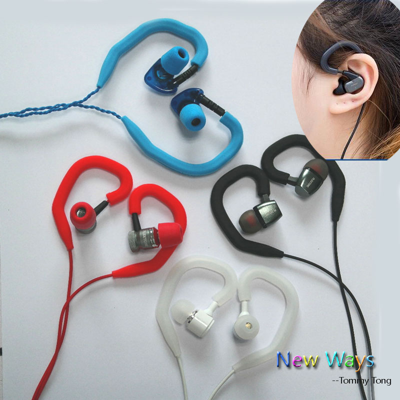 4 Removable Soft Silicone Sports Earhook Wire//Cable Hanger for Earphone headset
