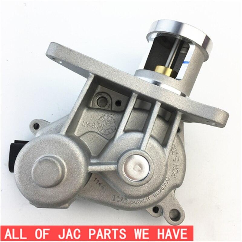 จัดส่งฟรีท่อไอเสียระบบทำความสะอาดแก๊สหมุนเวียนของ JAC Rein Refine Sunray 1026150FB 1026150FA130 EGR Valve ASSEMBLY