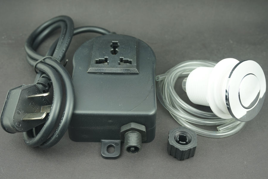 Garbage Disposal Air Switch Unit Assembly Push Button Sink Top Switch(China  (Mainland)