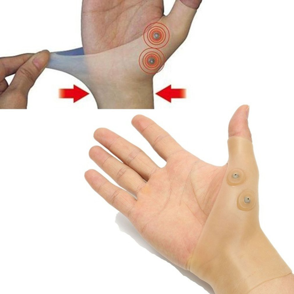 1PCS Magnetic Therapy Wrist Glove Tenosynovitis Pain Relief Wrist Hand Thumb Support Glove Wrist Support Brace For Men And Women