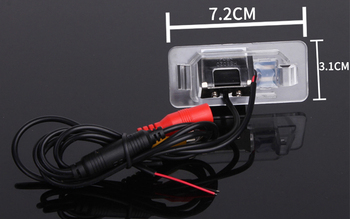 CCD Car Rear Camera For BMW 1 Series E82 3 Series E46 E90 E91 5 Series E39 E53 X3 X5 X6 Auto Backup Reverse Park Kit NightVision